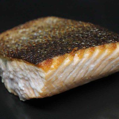 salmone doppia cottura
