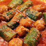 Zucchine Ripiene in Umido<br> con Polpette
