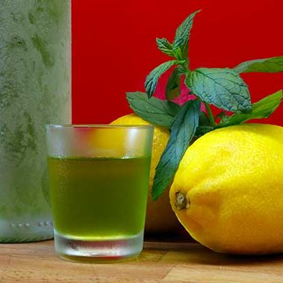 liquore menta lemon