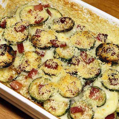 lasagnetta zucchine e speck